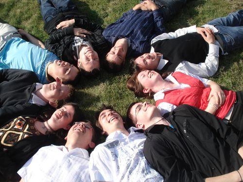 Les comploteurs dans l'herbe