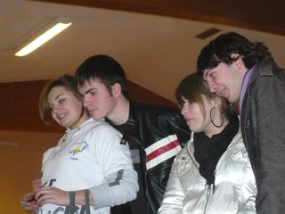Marie Astrid, moi,  Lucie et Reg