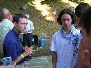 Deux amis, Regis un prêtre et Richard