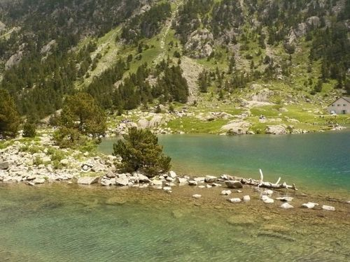 Trop beau, lac de Gaube