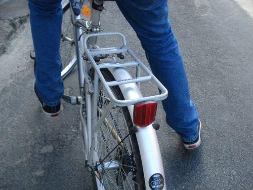 Moi sur un vélo du sexe opposé